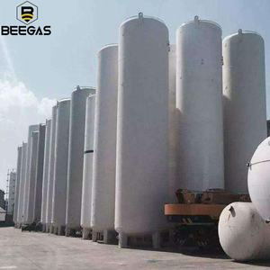 Wholesale 1000L Oxygen Nitrogen Argon Liquid Storage Tank Cryogenic Liquid Oxygen Tank