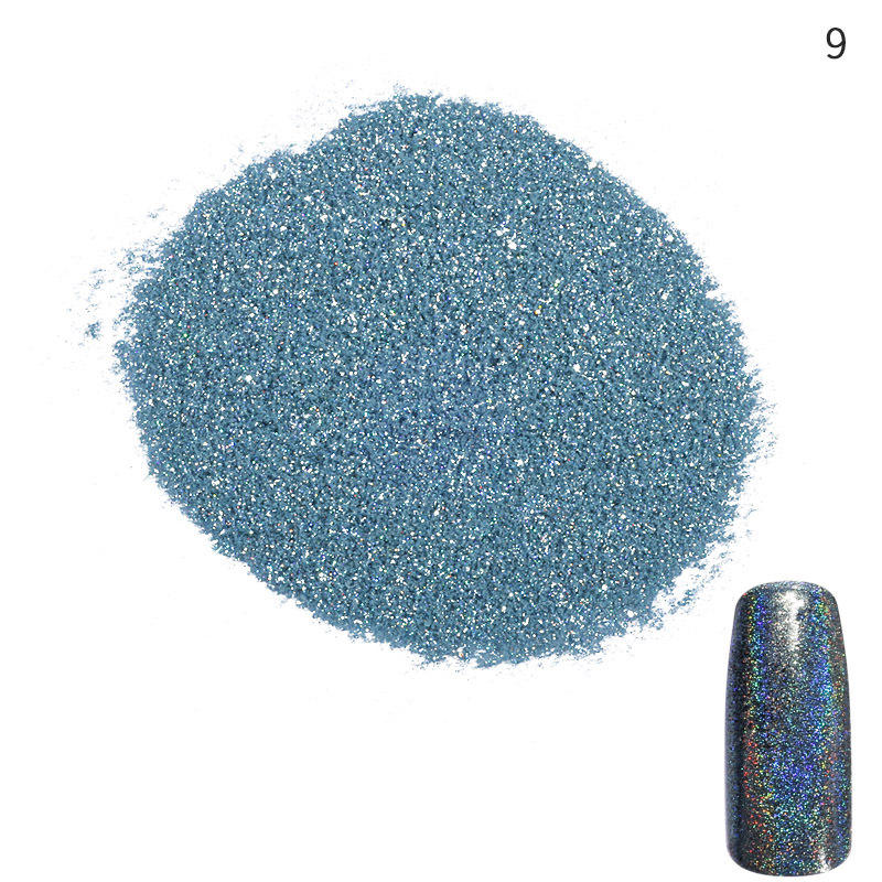 Starry Sky Nude Color nail glitter flakes Drying Dipping nail powder glitter mixed MOFONAILS-9