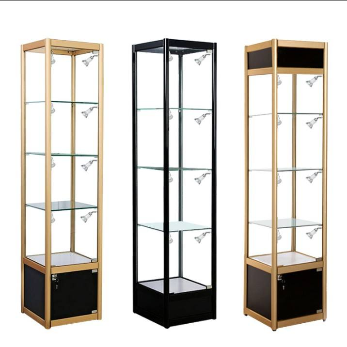 New glass trophy cabinet showcase display case