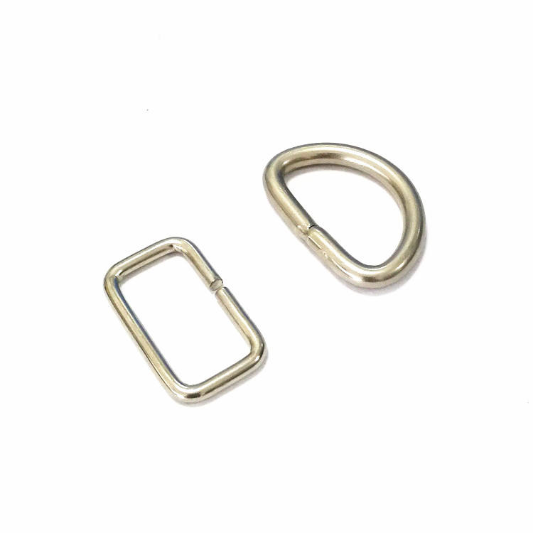 D shape stainless steel wire forming spring jump ring