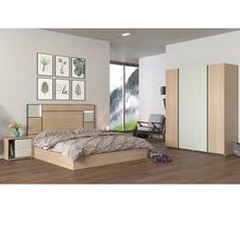 Nordic 2020 modern Home Furniture MDF Wooden Double Size Bedroom Furniture Sets