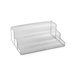 Direct Wholesale metal mesh 3 stepper kitchen tools spice rack