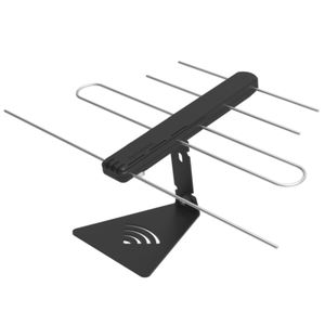 New 4 Elements 35Mile 8-13db Outdoor TV Antena For Digital TV Channels
