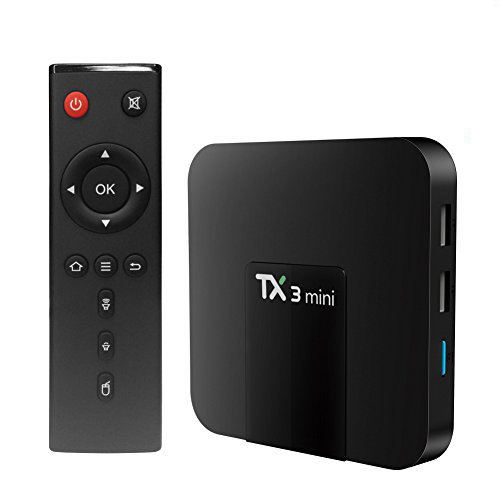 Hot selling android tv box TX3 mini 2gb 16gb S905W quad core android 8.1 smart TV box better than X96 mini set top box
