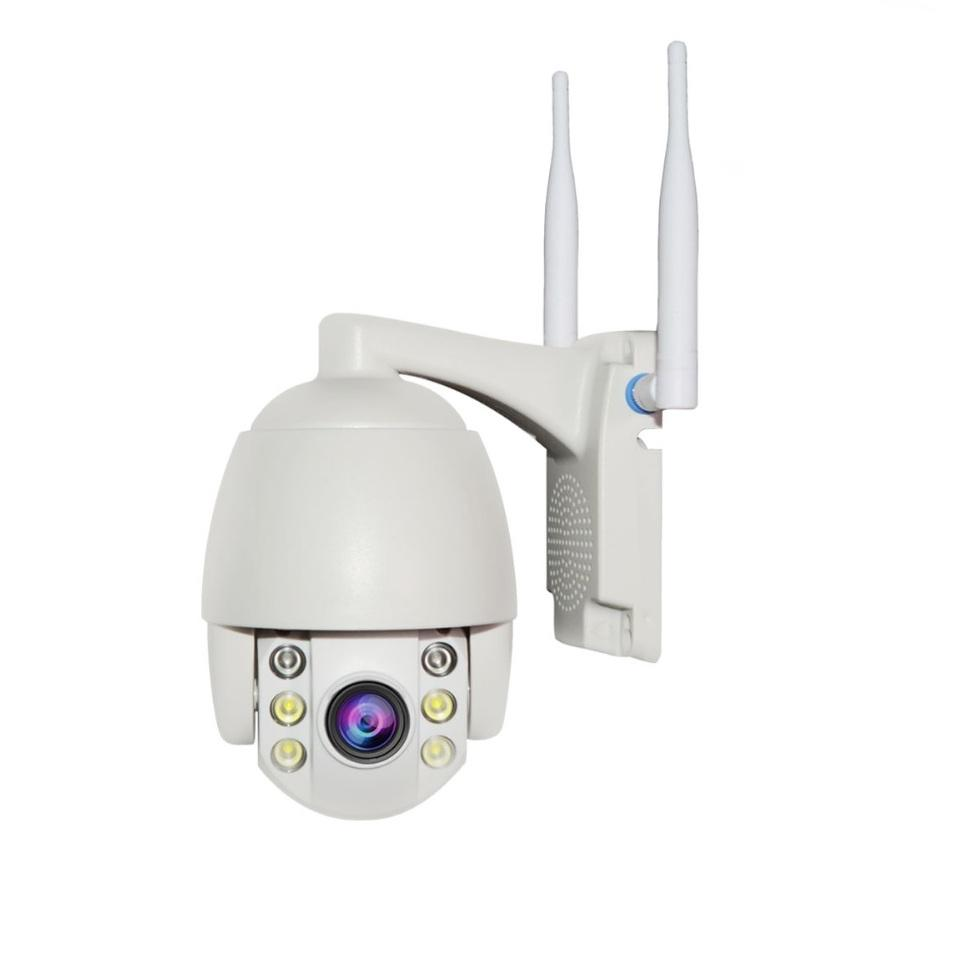 1080P 5MP Outdoor 5X Zoom Two Way Audio CCTV Security 2MP SIM Card 3G 4G Wireless Mini PTZ Dome Camera
