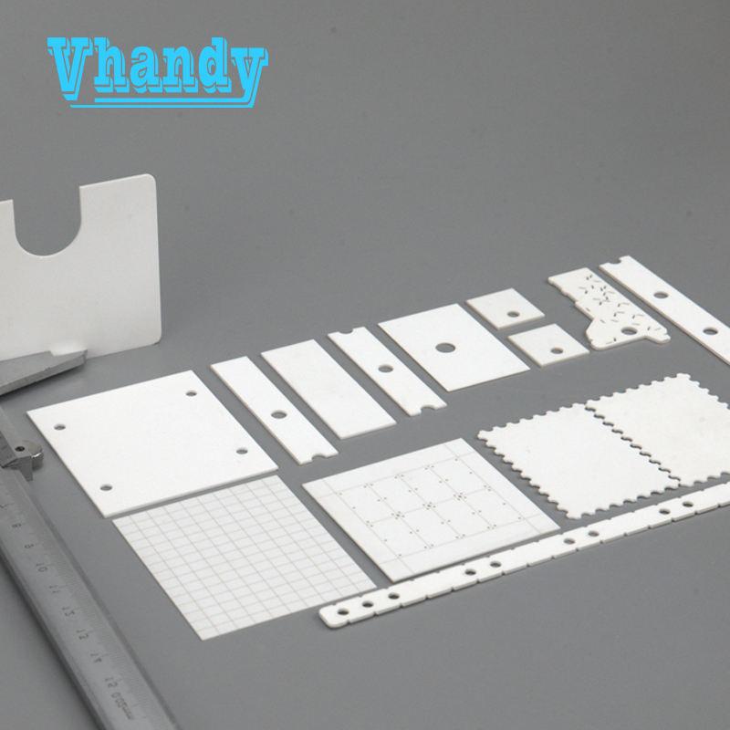 Vhandy глинозема керамический материал и промышленные керамические <span class=keywords><strong>приложения</strong></span> глинозема подложки для резисторов