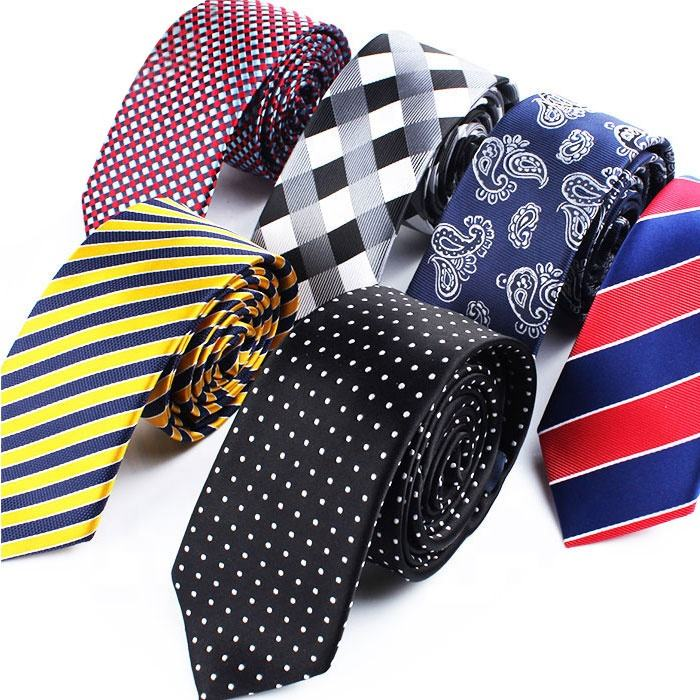 High Quality Polyester Woven Fabric Ties Mens Fashion Ties