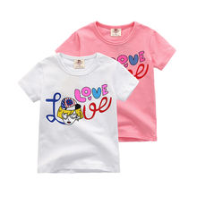 2020 new season hot selling Summer t-shirt baby 3-8 years old cotton short sleeved children's T-shirt