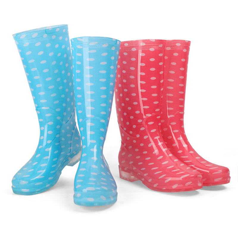 Ladies Girls Rain Boots Classic Midi Waterproof Insulated Snow Rain Boots Women Rain Shoes