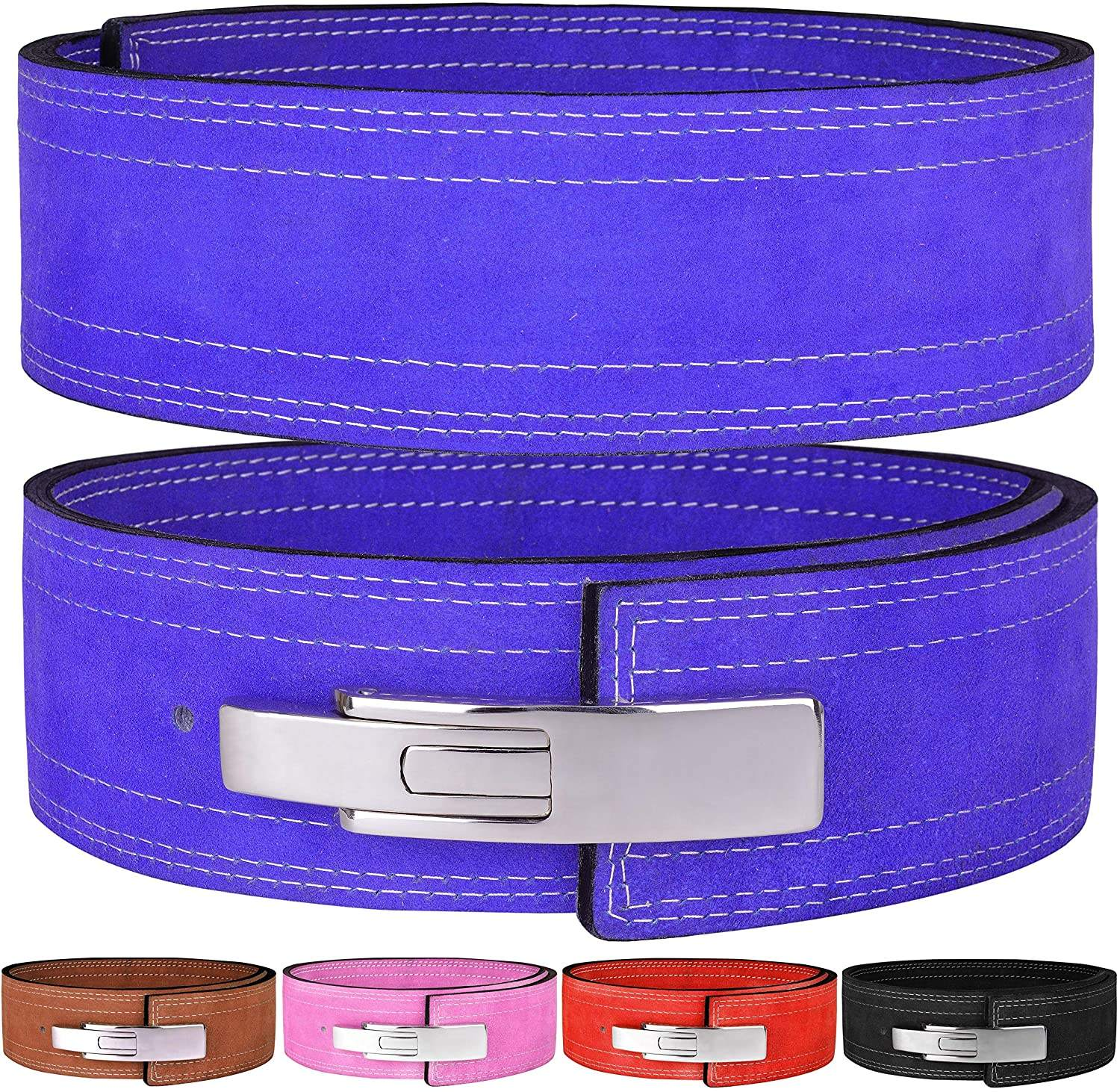 KUER Weight Lifting Belt Premium Weightlifting Belt für Serious Functional Fitness, Concise Style Lifting Belt für Men und Women