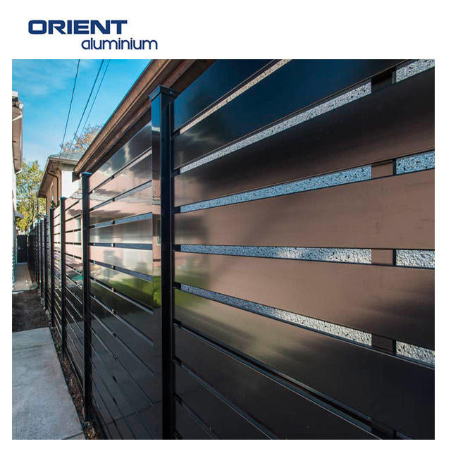 Factory CE,ISO,SGS,TUV Certification slat panel fence
