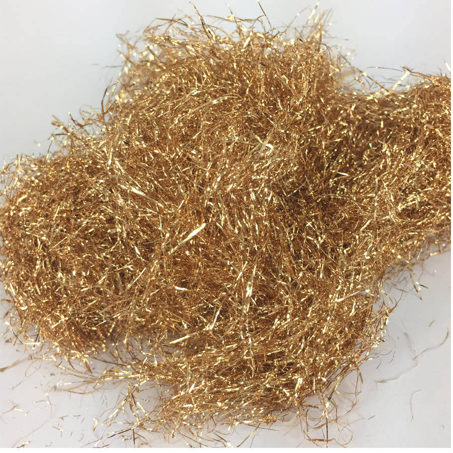 Factory direct Sale Champagne Gold Wire Taiwan Imitation Gold Leaf Foil Wire For Decorating Art Crafts Furniture