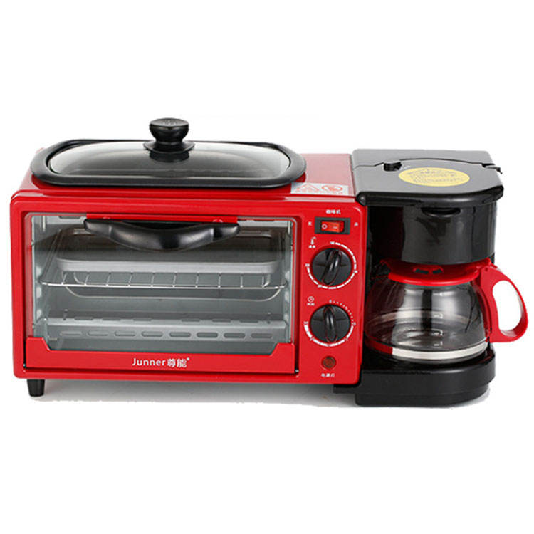 High Quality Design 3 in 1 Multi function Breakfast Maker Machine Electrical Commercial Bakery Oven