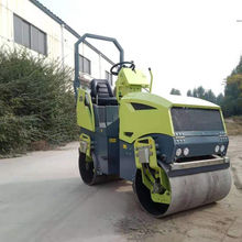1.5 Ton Diesel Gasoline Hydraulic Vibratory Asphalt  Pavement Roller For Roadways