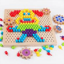 Educational fuse beads cheap wholesale diy toy hama beads Wooden perler beads