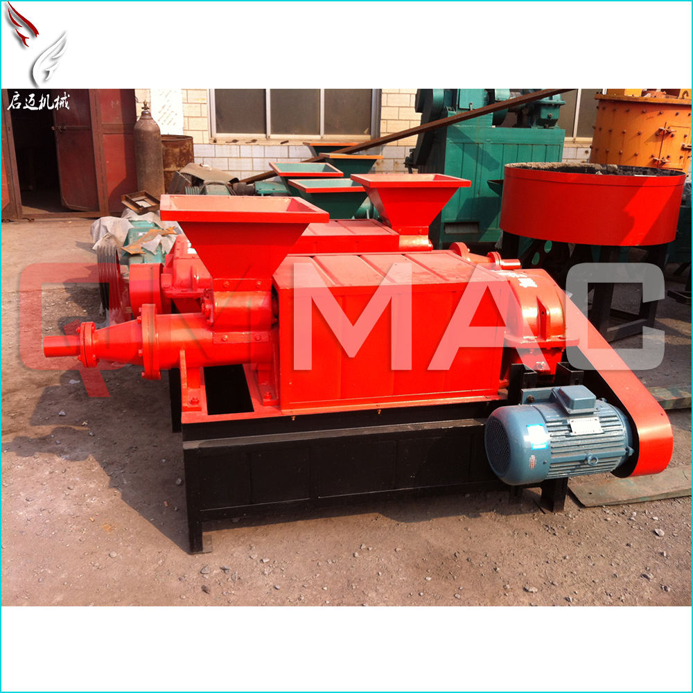 Brand new roller press coal briquetting machine with low price industry charcoal powder press machine coal briquette machine