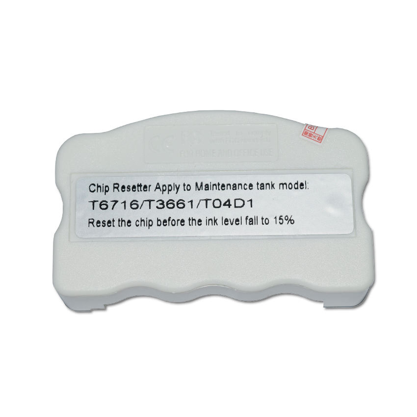 T04D1 T3661 T6716 Chip Resetter For Epson L6168 L6178 L6198 L6170 L6190 L6191 L6171 XP-8500 XP-8600 XP-8605 Maintenance Ink Box