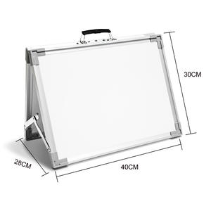 Amazon 12*16'' Small Magnetic Desktop Foldable Dry Erase White Board