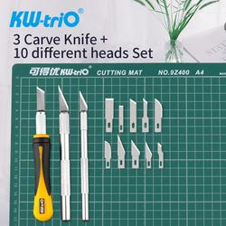 Favorable High Precision 3-Knife + 10-Head Carving Craft Knife Set