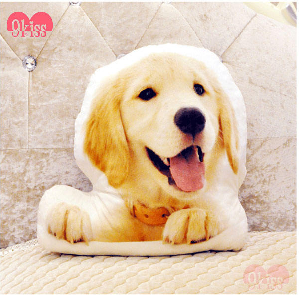 Photo Customization Creative Travel Pillow Shaped Dog Plush Animal custom pillow home decor