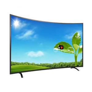 50 inch hot sale new product curved screen led tv television 4k smart tv 55 inch