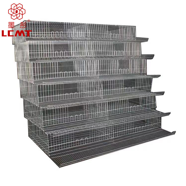 New design manual poultry equipment A type quail cage