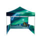 600D Oxford Fabric Pop Up Canopy Custom Tent For Sports Events custom made table cloth beach flag outdoor