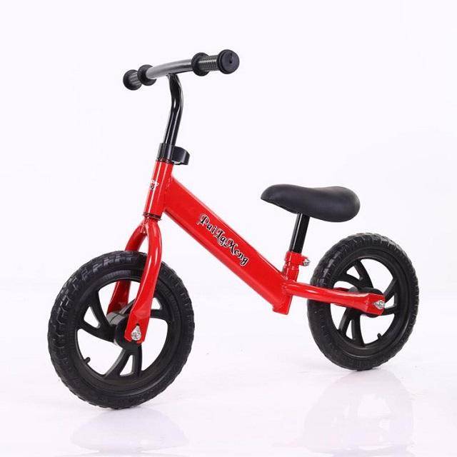 china wholesale Cheap 12 Inch 2-7 years old Kids Foot Pushed No Pedal balance Bicycle Slide Kids Balance Bike For Baby