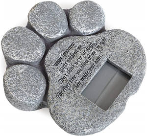 Manufacturer custom pet cat dog Black Granite animal funeral stone nature marble resin lettering tombstone for memorial pets