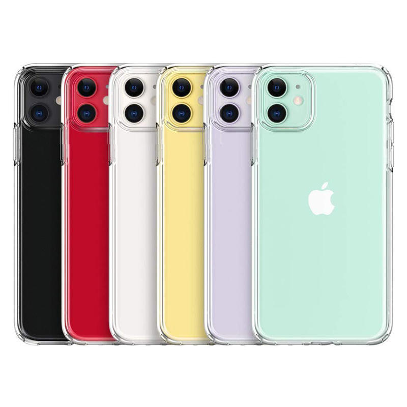 Crystal Clear Ultra Hybrid Designed Transparency Flaunts Original TPU Phone Case for Apple iPhone 11/12