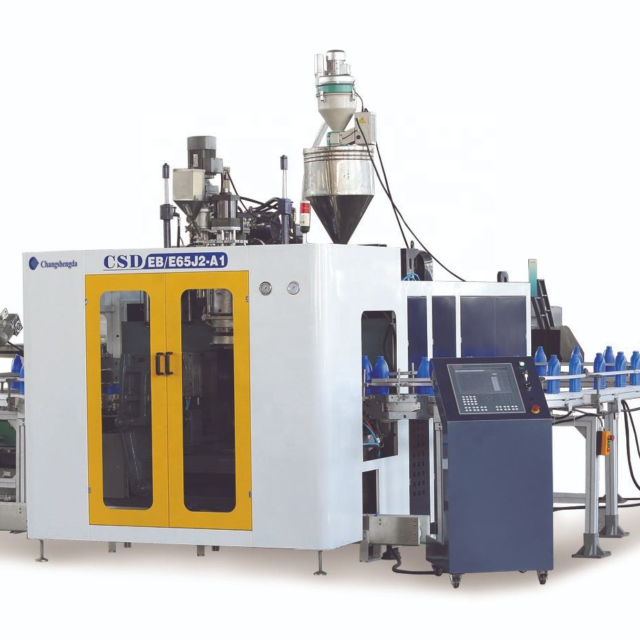 CE Approved Automatic Extrusion Blow Molding Machine  CSD-EB65J2-A1