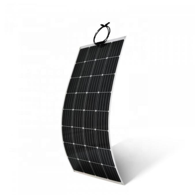 Ultra Lightweight ETFE surface flexible solar panel 100w panels solar china direct for offroad camping caravan