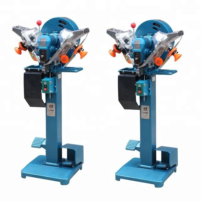 10-12mm Automatic Plastic Snap Buttons Fastening Machine For Stationery Folders and Envelope