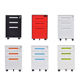 China supplier steel office equipment 3 drawer metal mobile pedestal cabinet
