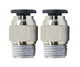 Pneumatic Fittings Fittings Push In Pneumatic Fittings PC6-03 Plastic Air Pneumatic Quick 1 Touch Push In Fittings