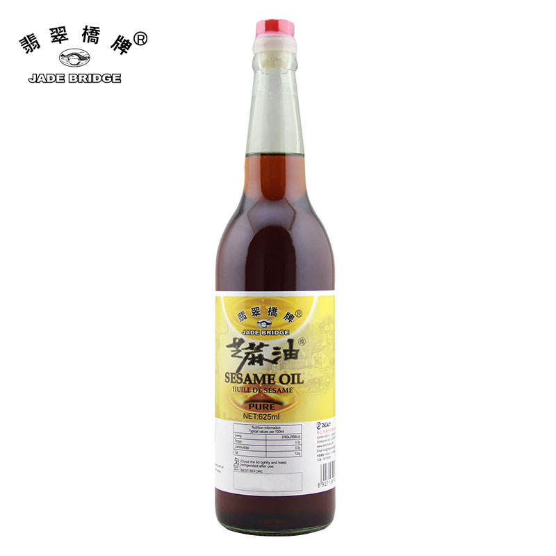 1.86 L Jade Bridge Pure Sesame Oil Wholesale For Supermarket Recipes OEM With Factory Price
