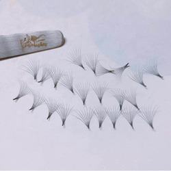 Private label eyelashes extensions volume Fans Lashes