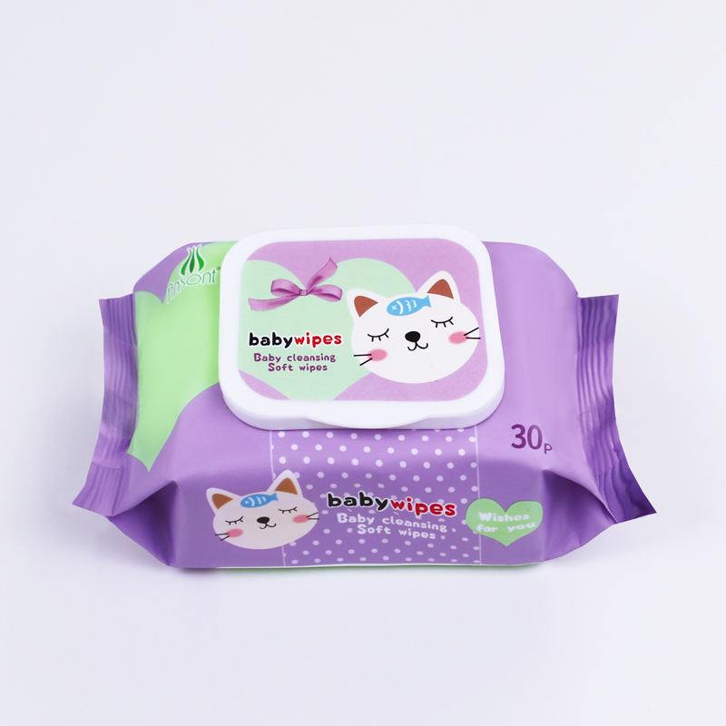 OEM custom private label CE cleansing medical free mother care baby wet wipes