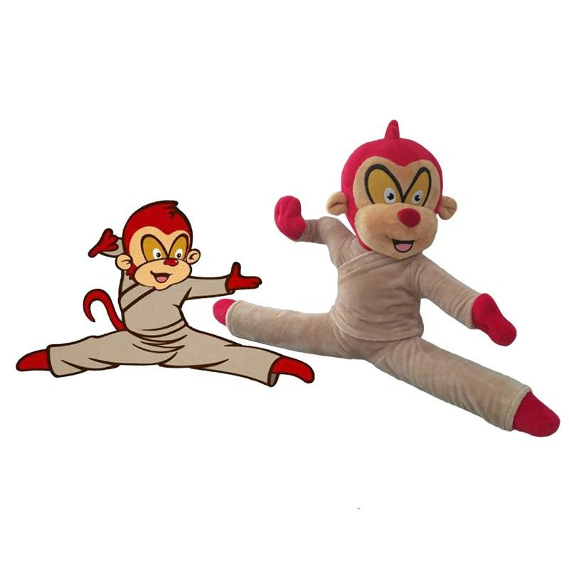 Monkey [ Plush Toy ] Plush Monkey Stuffed Toy Fashionable Design Stuffed Animal Plush Toy Monkey