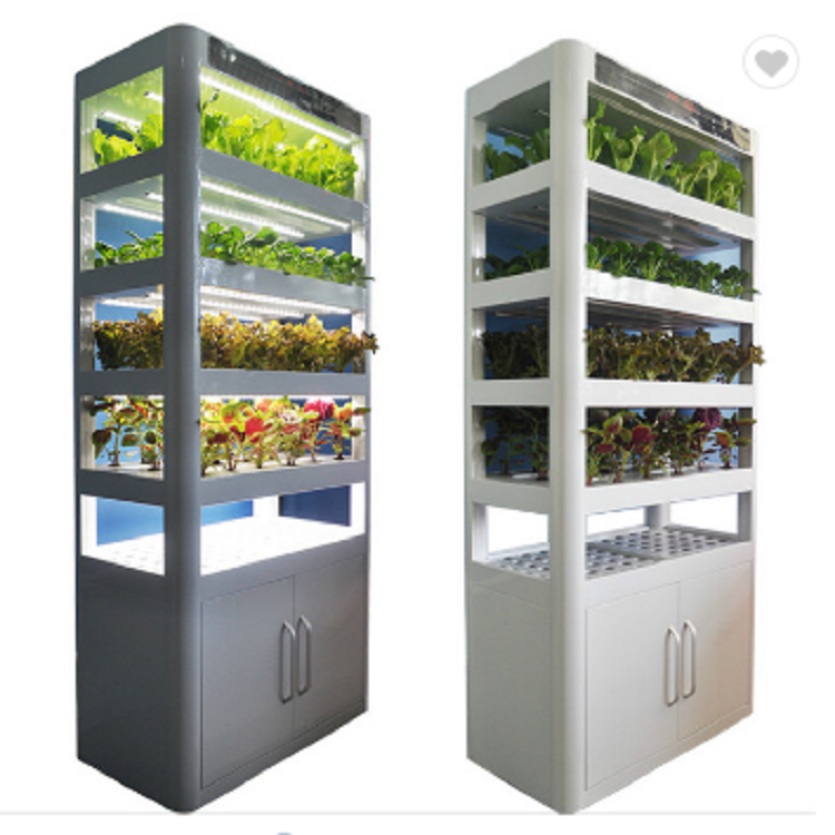 indoor growing Multilayer fully automatic hydroponic growth system for apartment