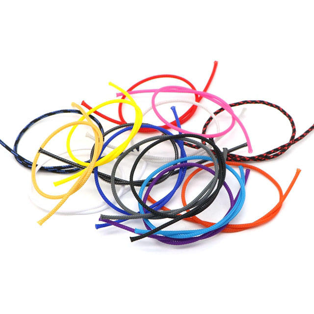 Factory 55 Colors 2mm PET Expandable Cable Protection Sleeve