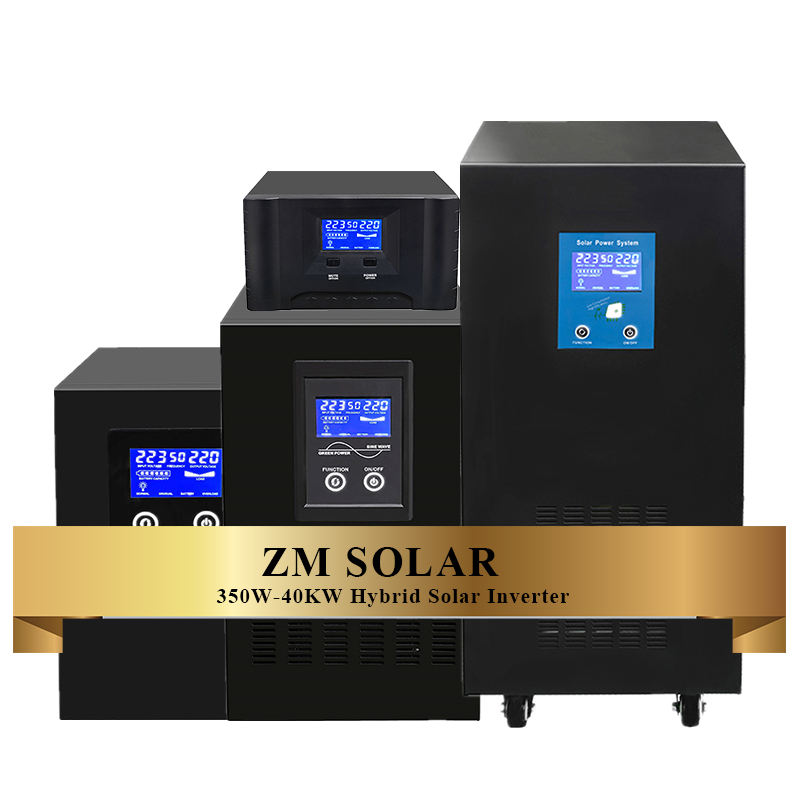 Hybrid Off Grid 7kw Solar Pv Inverter Price 3 Phase Power System Solar Power Inverter with Battery