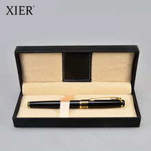Exclusive new high grade business pen with gift box promotional metal roller pen with case pluma con estuche