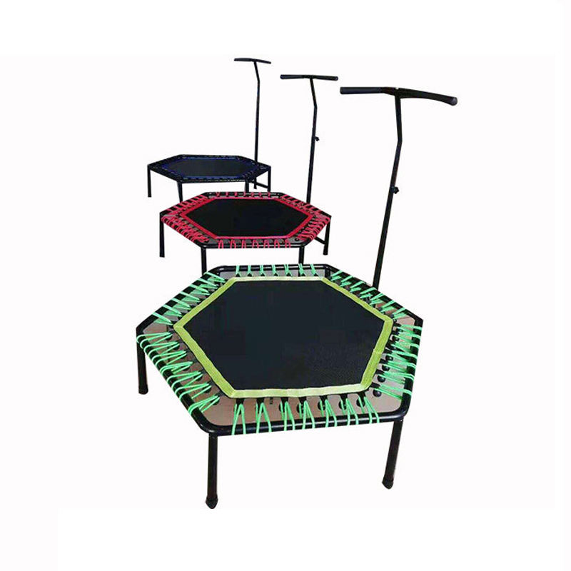 Gym equipment fitness exercise indoor gymnastic mini fitness trampoline trampoline for sale