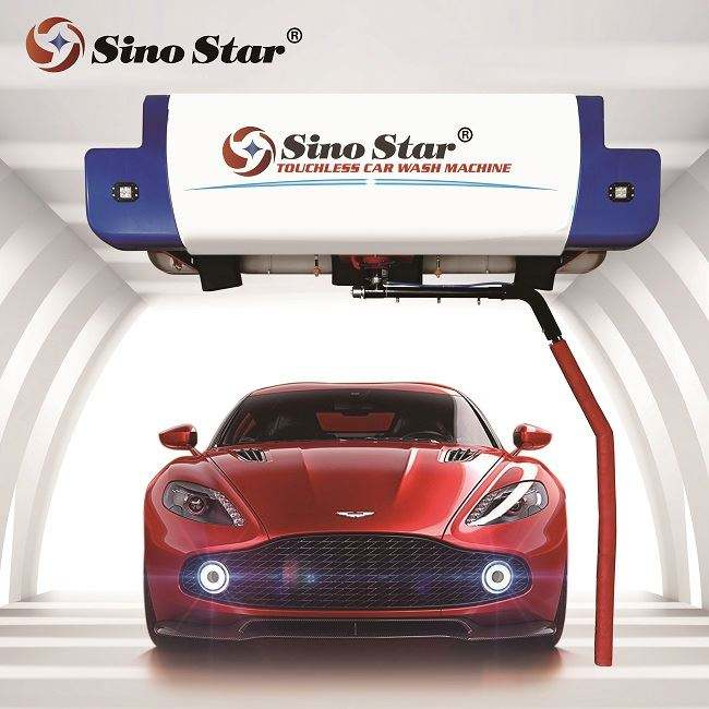 Factory Supply automatic touchless car wash equipment in germany price