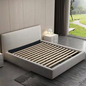 Home Bed Specific Use and Double Size metal bed frame with storage space