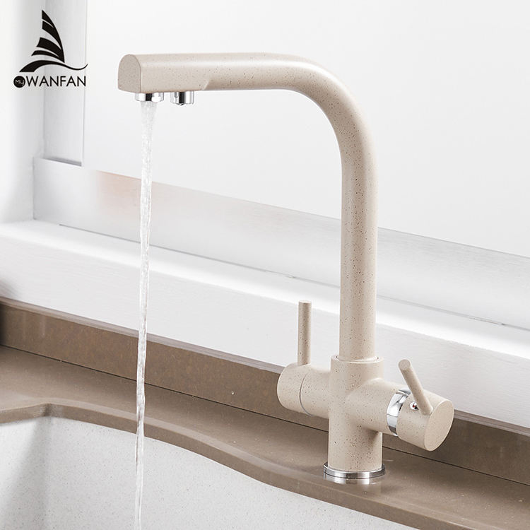 0183 flexible 304 kitchen faucet water purifier tap filter cozinha water faucet oatmeal watermark kitchen sink faucet taps