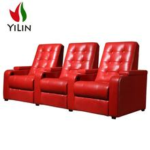 Factory direct sales commercial and home used cinema 4d seats recliner home theater loveseat