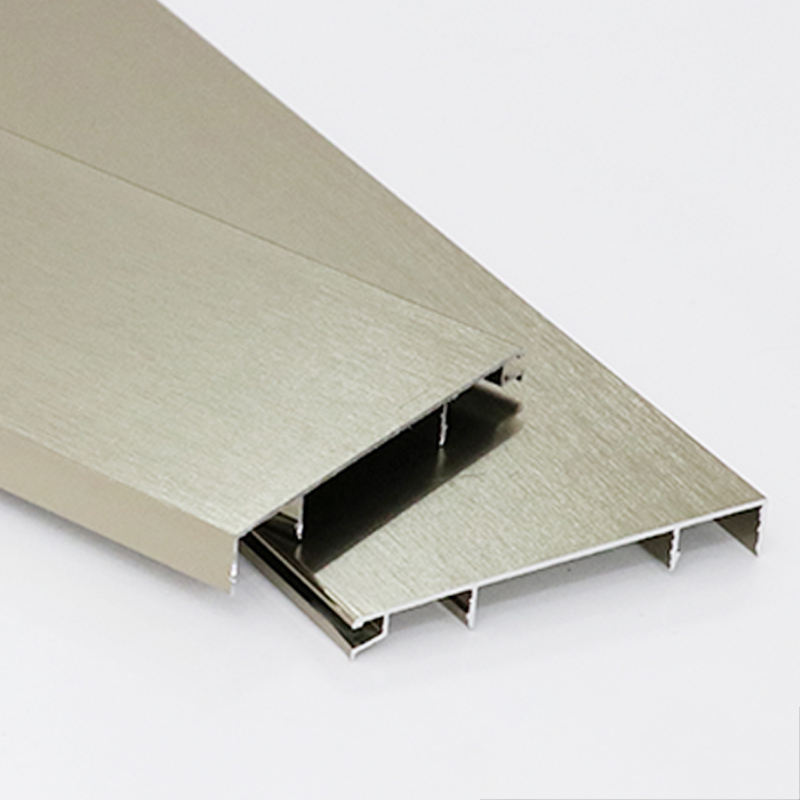 Customized Aluminum skirting board wall base protection flooring accessories skirting board