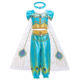 Wholesale Kids Party Cosplay Costume Aladdin Lamp Princess Dress For Girl Top&Skirts Pants BX1639